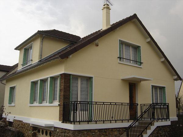 Entreprise b timent travaux r novation ravalement de fa ade menuiserie po - Travaux renovation maison ...